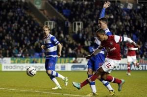 Арсенал обърна Рединг от 0:4 до 5:4, след това би със 7:5 в изумителен мач