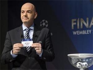 Шегата на жребия за осминафиналите в турнира за Шампионската лига не се хареса на 6 от фаворитите за отличието.