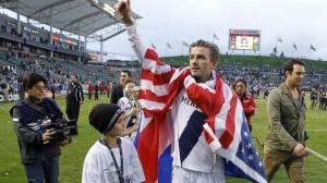 """Бекъм спечели титлата в MLS в последния си мач с екип на """"ЛА галакси"""""""
