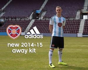 Новият екип, произведен от Adidas, беше представен официално на 9 юни 2014 г.