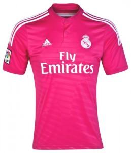 Новият екип на Реал, произведен от Adidas, беше представен официално на 2 юни 2014 г.